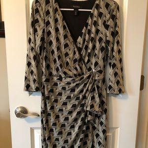 White House Black Market Wrap Dress